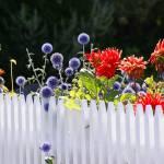 """""""Flower Fence"""" by LutzBaar"""