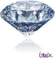 Grace's Blue Diamond Signed