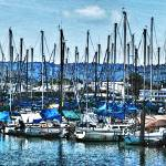 """Berkeley Marina"" by Bob_Wall"