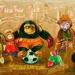 """Monkey Evolution 2009"" by ALEX_DROZD"