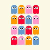 Where are you Pacman? Art Prints & Posters by Tamás Olejnik