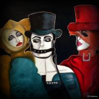 the 3 wise guys Art Prints & Posters by birgit friedberg