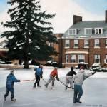 """Pond Hockey"" by grantburke"