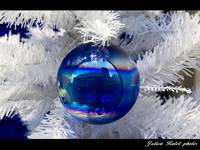 Christmas ball reflections