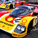 """Porsche 962, ""Lets get ready to rumble"""" by ArtbySachse"