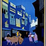 """India Vintage Travel Poster"" by shanmaree"
