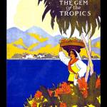 """JAMAICA Vintage Travel Poster"" by shanmaree"