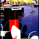 """Marseille Vintage Travel Poster"" by shanmaree"