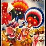"""Mexico Vintage Travel Poster"" by shanmaree"