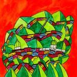 """""""Abstract Dublin 4"""" by Aurelie"""