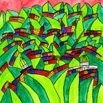 """""""Abstract Dublin 7"""" by Aurelie"""