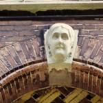 """Haarlem Woman Building Detail"" by kphotos"