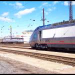"""Amtrak Locomotives in Phila. Penna."" by StanFeldman"