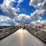 """The Vanishing Bridge (aka the Millennium Bridge)"" by sergioamiti"