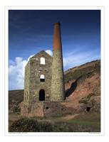 Wheal Coates tin mine St Agnes, Cornwall UK