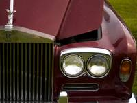 1967 Silver Shadow 1 Grill and Headlights
