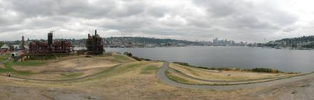 Seattle Skyline from Gasworks Park