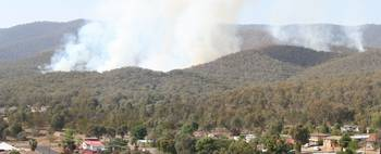 Tumut NSW Fire 17/12/06