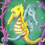 """""""Seahorse"""" by HankNunesArts"""