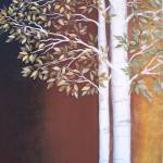 """Spring to Fall Aspen Trees"" by VictoriaLarsen"