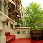 """Porch in Upper West Side, Manhattan, NY"" by zlazk"