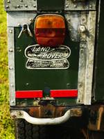 Land Rover Tail Light