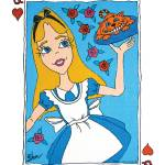 """Alice Wonders - Alice In Wonderland"" by LauriJon"