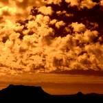 """""""Clouds with Peak, Navajo"""" by lagarriga"""