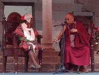 The Dalai Lama Jokes About Shoes