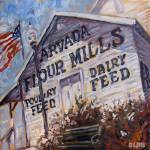 """Arvada Flour Mill"" by DLineGraphics"