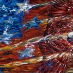 """Flag & Eagle"" by DLineGraphics"