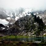 """MtSkokomish_LakeoftheAngels"" by bittermonk"