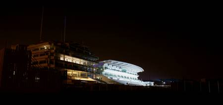 Epsom Downs Racecourse at Night