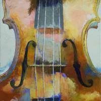 """Violin Painting"" by creese"