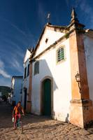 The day starts in Paraty, Brazil