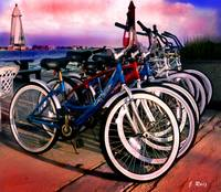 Beach bicycles