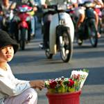 """Selling Roses on the Streets of Saigon"" by leslein"