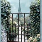 """""""Eiffel Garden (blue)"""" by leeowenby"""
