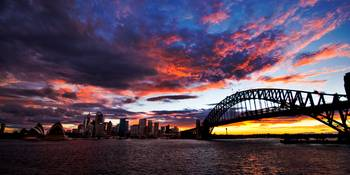 Sunset Over Sydney