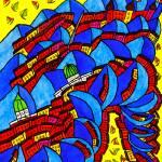 """""""Abstract Dublin 11"""" by Aurelie"""