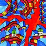 """""""Abstract Dublin 13"""" by Aurelie"""
