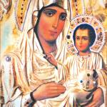 """Mary and Jesus Icon"" by Dessie"