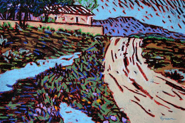 Stunning Adobe House Painting Reproductions For Sale On Fine Art Prints