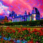 """Palace of Fontainebleau"" by dannydeu"
