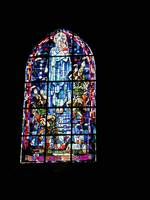 Stain Glass Window St Mere Eglise