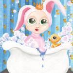 """""""PRINCESS BATHTUB BUNNY"""" by wickeddollz"""