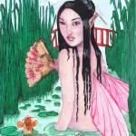 """Oriental Tranquility"" by FaerieMajikk"