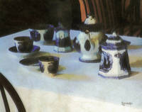 Still Life with Tea Service