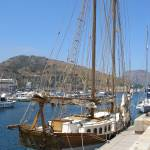 """Yacht at Carthegena"" by ChrisDorren"