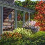 """Back Porch"" by susansartgallery"